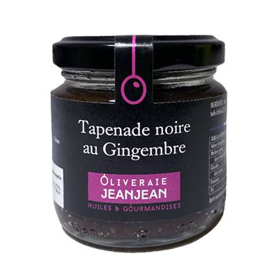 TAPENADE NOIRE GINGEMBRE 85g
