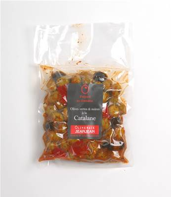 OLIVES CATALANES 400G